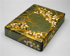Writing Box Photo ©2013, Detroit Institute of Arts Date 17th/early 18th Century Medium Lacquer, gold, mother-of-pearl, and lead on wood - See more at: http://www.dia.org/object-info/117f3431-7736-471d-bbdc-d1253b625530.aspx?position=149#sthash.HbpMCan8.dpuf