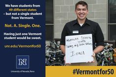 The University of Nevada, Reno has unleashed an unusual campaign to recruit more students from...