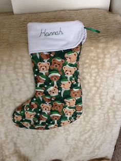 Especially made for Hannah to take for her first Christmas in New Zealand!