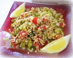 Kisir (bulgurový šalát) - Turecko - Recept