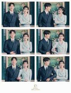 Korean Drama Best, Korean Drama Movies, Korean Actors, Korean Actresses, Korean Dramas, Descendants Of The Sun Wallpaper, Luna Fashion, Jin Goo, Movie Couples