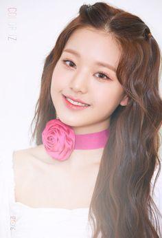 First Mini Album [ ] ♡ Kpop Girl Groups, Kpop Girls, Peinados Pin Up, Yu Jin, Japanese Girl Group, Korean Makeup, Debut Album, One Color, Mini Albums