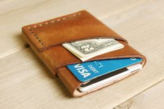 Craft & Lore - The Port Wallet $55