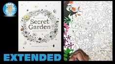 johanna basford coloring - YouTube