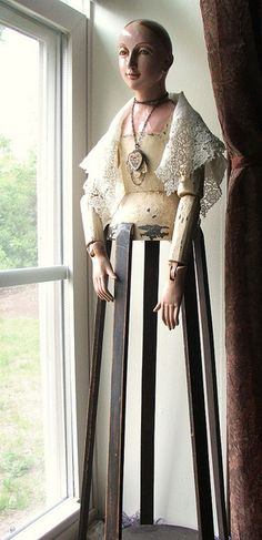 Santos cage doll by lilruby, via Flickr