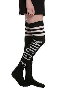Harry Potter Muggle Black Over-The-Knee SocksHarry Potter Muggle Black Over-The-Knee Socks,