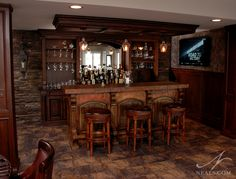 Rustic Saloon Bar | Bar Designs On Pinterest Wet Bar. Rustic Basement Bar  Charm Rustic