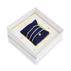 Joma Jewellery  Gift Box - Christmas Wish Christmas Jewelry, Christmas Gifts For Her, Christmas Wishes, Christmas Birthday, Christmas Themes, Lily Stella, Wish Bracelets, Stacking Bracelets, Bracelet Gift Box