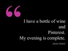 wine and pinterest: the perfect pair