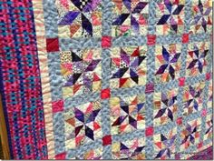 Gorgeous new free quilt pattern - Emery's Stars - from the awesome Bonnie Hunter's Quiltville website!