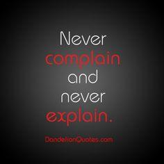 Good rule to follow....