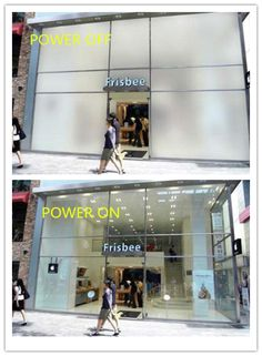 self adhesive switchable film for shopping windows .  If interested, please email me at: ytrushui@gmail.com