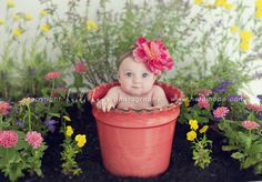 Baby photoshoot garden picture ideas 53 ideas for 2019 3 Month Photos, 3 Month Old Baby Pictures, 6 Month Baby Picture Ideas, Baby Girl Pictures, Spring Pictures, Newborn Pictures, Pregnancy Pictures, Holiday Pictures, Baby Calendar