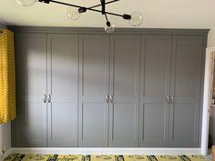 Diy Built In Wardrobes, Bedroom Built In Wardrobe, Blackout Panels, Armoire, Locker Storage, Park, Building, Furniture, Home Decor