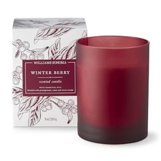 Williams Sonoma Winter Berry Candle #williamssonoma