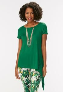Exaggerated Asymmetrical Top-Plus