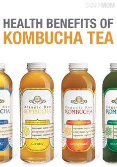 Get the health benefits on Kombucha.