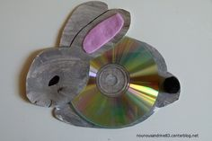 activité manuelle : animaux CD : lapin CD