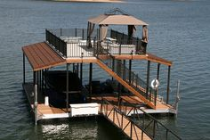 Hot tub dock