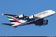 Airbus A380-861 - Emirates | Aviation Photo #4423401 | Airliners.net