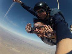 Skydiving in Las Vegas, NV. #worldventures #youshouldbehere #YSBH