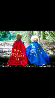 Superhero pregnancy announcement for baby#3