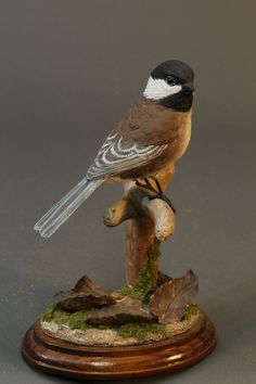 ChestnutBacked Chicadee by GeneBoyd on Etsy, $400.00
