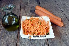 Salata de morcov cu patrunjel Romanian Food, Carrots, Spaghetti, Vegetables, Ethnic Recipes, Youtube, Salads, Carrot, Vegetable Recipes