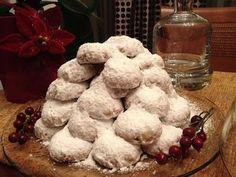 Κουραμπιέδες παραδοσιακοί , γιορτινοί Baked Goods, Muffin, Cookies, Baking, Breakfast, Desserts, Recipes, Foods, Drinks