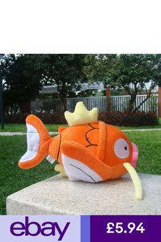 da49d74f76c Nintendo Pokemon Center Go Plush Toy Magikarp Fish Fluffy Stuffed Animal  Doll