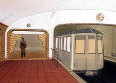 Jak by vypadalo metro, kdyby se stavělo už před válkou