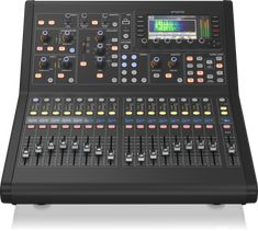 Digital Console for Live and Studio with 40 Input Channels, 16 Midas PRO Microphone Preamplifiers and 25 Mix Buses and Live Multitrack Recording, Multitrack Recording, Recording Studio Design, Live Sound Engineer, Road Cases, Digital Signal Processing, Space Frame, High Performance Cars, Design Language, Tecnologia
