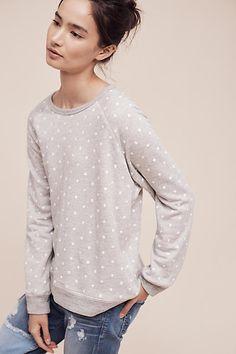 Libby Dot Sweatshirt - anthropologie.com