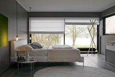 Bed: CHARLES - Collection: B&B Italia - Design: Antonio Citterio