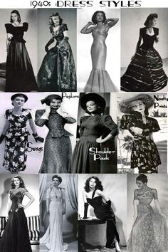 1940s Hollywood Evening Dresses | 1940's USO on Pinterest | Wwii, 1940s Mens Fashion and 1940s Fashion