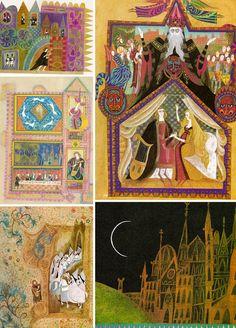 Sir Orfeo A Legend from England illustrated by Errol Le Cain ElwoodAndEloise