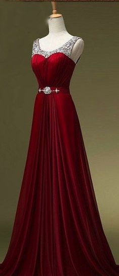 New Wine Red Evening Dresses,Burgundy Chiffon Long Prom Dresses,Off the Shoulder Back V Graduation Dresses Evening Prom Gowns Bridesmaid Dresses from Dresscomeon Pretty Outfits, Pretty Dresses, Awesome Dresses, Homecoming Dresses, Bridesmaid Dresses, Dress Prom, Dress Formal, Quinceanera Dresses, Red Formal Gown