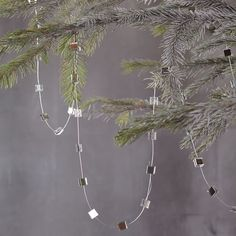 Mirrored Hanging Garland | west elm