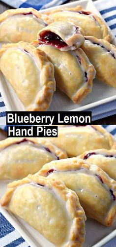 Blueberry Lemon Hand Pies – Recipes Made Easy Blueberry Lemon Hand Pies – Recipes Made Easy Köstliche Desserts, Dessert Recipes, Dessert Ideas, Blueberry Recipes, Lemon Pie Recipes, Recipes With Blueberries, Blueberry Lemon Recipes, Lemon Blueberry Cookies, Blueberry Pies