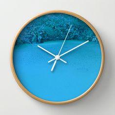 xuxu walk Wall Clock by Danny Ivan - $30.00