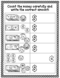 first grade money test teachers pin teachers pinterest 1st grade math teaching money and. Black Bedroom Furniture Sets. Home Design Ideas