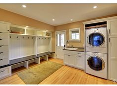 Craftsman Mud Room - Come find more on Zillow Digs!