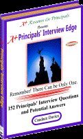 Teaching interview questions and potential answers.  Could be very helpful soon and a lot to think about!!