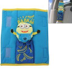 Despicable Me Car Safety Seat Belt Cover Shoulder Pad, Pack of 2 Funny Life, Despicable Me, Life Humor, Shenzhen, Shoulder Pads, Safety, Packing, China, Belt