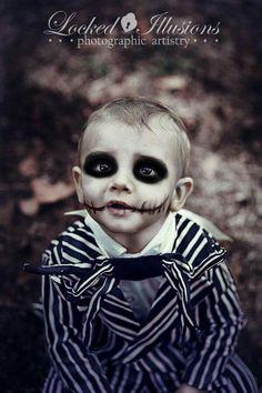 Kid\'s Halloween Makeup Tutorial: Ghoulish Vampire | Halloween ...