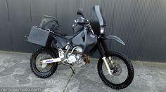 Suzuki DR650 DR650SE Safari 30L Long Range Fuel Tank Petrol Gas Black | eBay
