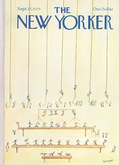 """The New Yorker - Monday, September 17, 1979 - Issue # 2848 - Vol. 55 - N° 31 - Cover by : """"Sempé"""" - Jean-Jacques Sempé"""