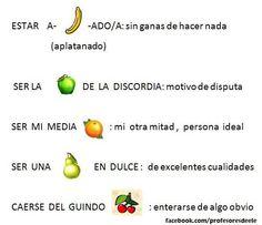 Tema: la fruta