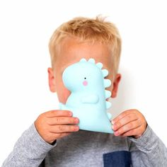 Dinosaur Night Light  This little pastel coloured T-rex LED light loves to Roarrr. He looks so cool on your little boys nightstand and he helps scare the monsters away before bedtime with his soft glow. Find it at @littlelulubel  #nightlight #interiorsforchildren #homedecorating #interiorstyling #nightlights #ledlights #kidslamp #childrenlight #light #childrenlamps #instahome #handmade #handmadelamp #homemade #lighting #lightingdesign #homeaccessories #gifts #personalisedgifts…
