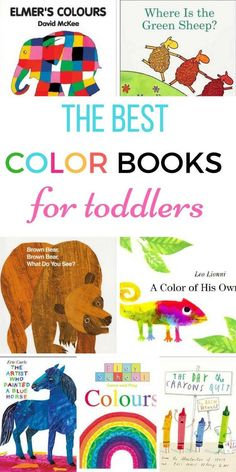 the best color books for toddlers pinterest